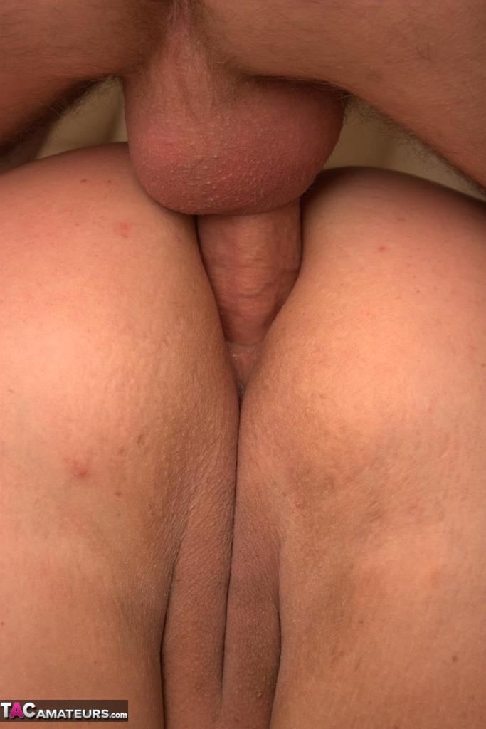 Peek down blouse boobs