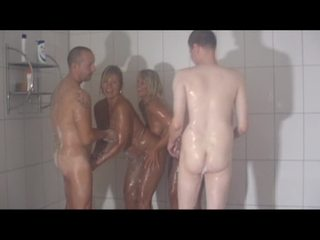 mixed gender nude showers