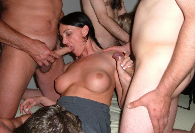 Ass and pussy toyed