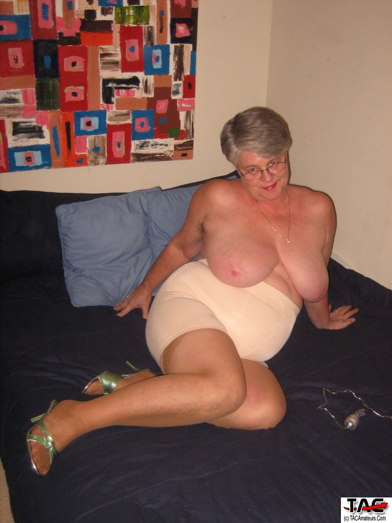 Goddess mature girdle