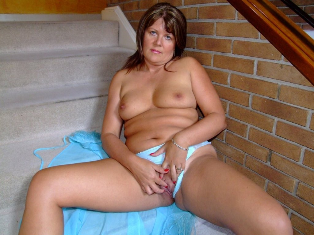 Black stockings milf