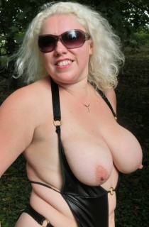 Barby is a blonde and busty sex queen with great tits and a lust for cock AND pussy or multiples of both