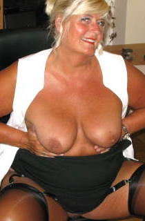 Chrissy is a buxom British blonde housewife with a curvy figure and fantastic 40DD boobs. A must see for all BBW fans