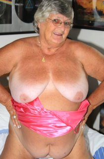 GrandmaLibby - 77 years old and a sex drive that no one man can handle. Grandma Libby is your favourite swinging granny that loves to fuck her site members