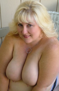 This curvy blonde BBW has all the right assetts to leave you drooling for more. A must see for all BBW fans