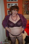 Chris44G. Purple Bra & Knickers Free Pic 1