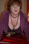 Chris 44G. Purple Bra & Knickers Free Pic 6