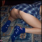 MoonAynjl. blue flannel skirt Free Pic