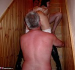 Foxie Lady. Staircase 3-Some Fun Free Pic 5