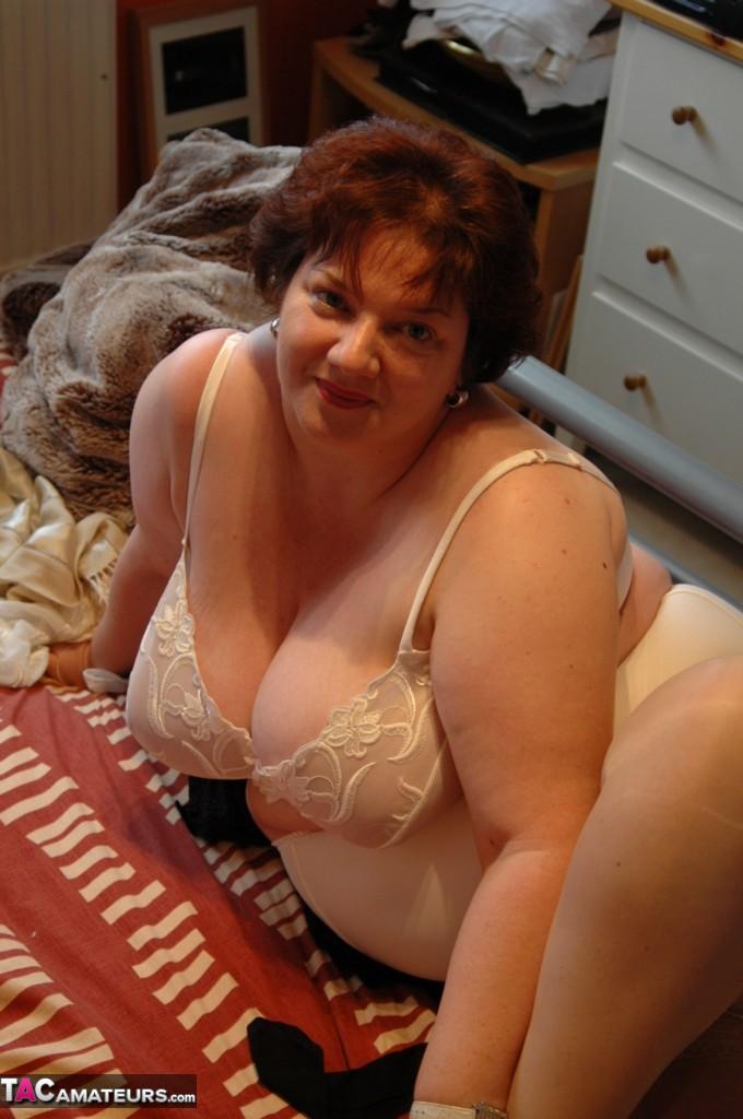 Amanda girdle huge tits