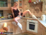 TraceyLain. Cooking in the kitchen Free Pic