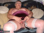 GrandmaLibby. Red Velvet & White Stockings Free Pic 3