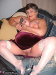 GrandmaLibby. Red Velvet & White Stockings Free Pic 6