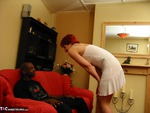CouplesExposed. Nigel & Scarlet Babe Lounge Session Free Pic 3
