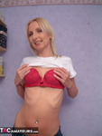 TraceyLain. Blonde Stripped and Abused Free Pic