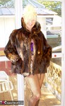 Ruth. Fur Coat Fun Free Pic 20