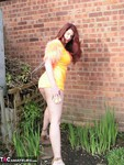 AngelEyes. Orange Velvet Dress Free Pic 9
