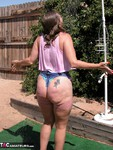 Devlynn. Devlynn gets an Outdoor Shampoo by Two Free Pic