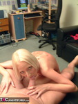 TraceyLain. Blonde in Shorts Free Pic 12