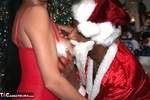 Foxie Lady. Cock Sucking at Xmas Free Pic 13