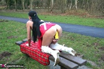 Foxielady. Horny Outdoor Toy Fun Free Pic 11
