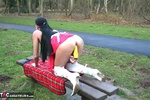 Foxielady. Horny Outdoor Toy Fun Free Pic 12