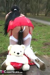 Foxielady. Horny Outdoor Toy Fun Free Pic 17
