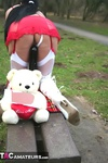 Foxielady. Horny Outdoor Toy Fun Free Pic