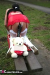 Foxielady. Horny Outdoor Toy Fun Free Pic 20