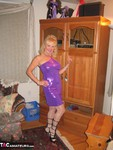 Ruth. Purple Dress Free Pic