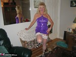 Ruth. Purple Dress Free Pic 2