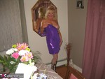 Ruth. Purple Dress Free Pic 4