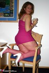 Devlynn. Devlynns Downtime in Pink Fishnet Free Pic
