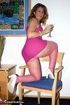 Devlynn. Devlynns Downtime in Pink Fishnet Free Pic 6