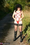 GermanIsabel. Out Door Strip Free Pic
