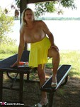 Adonna. Buxom & Bold in the Outdoors Free Pic 9