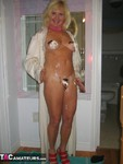 Ruth. Silk Dressing Gown Free Pic