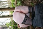 MaddyBBW. Posing in the Garden Free Pic 18