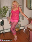 Ruth. Pink Footless Tights Free Pic