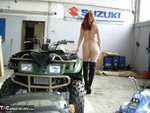AngelEyes. Horny Shooting In A Garage Free Pic