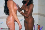 Foxielady. Girly Shower Fun with Gorgie Free Pic 3