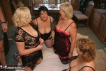 DoubleDee. Dee, Claire, Raz & Barby's Orgy Free Pic 1