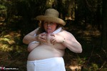 MaddyBBW. Stripping & Fucking in the Woods Free Pic 8