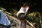 MaddyBBW. Stripping & Fucking in the Woods Free Pic 14