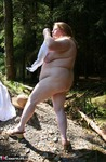 MaddyBBW. Stripping & Fucking in the Woods Free Pic 17