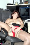 Reba. Office Foreplay Free Pic