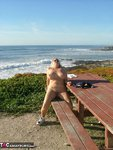 Adonna. Stripping At The Beach Free Pic 15