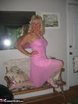 Ruth. Pink Dress Free Pic