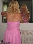 Ruth. Pink Dress Free Pic 4