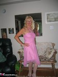 Ruth. Pink Dress Free Pic 11